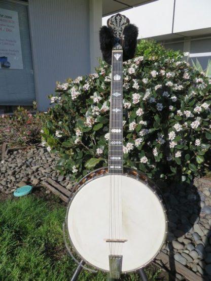 1924 Vega style X #9 tenor banjo