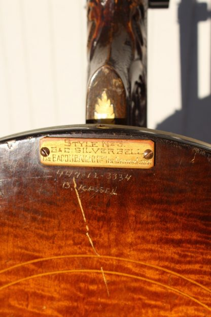 1927 Bacon & Day Silver Bell #3 Plectrum