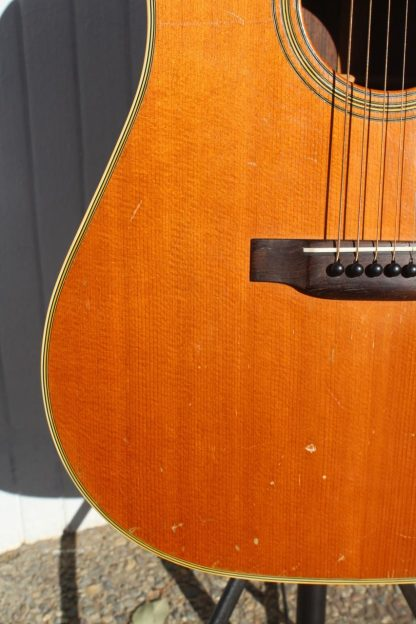 1949 Martin D-28 before neck reset and refret